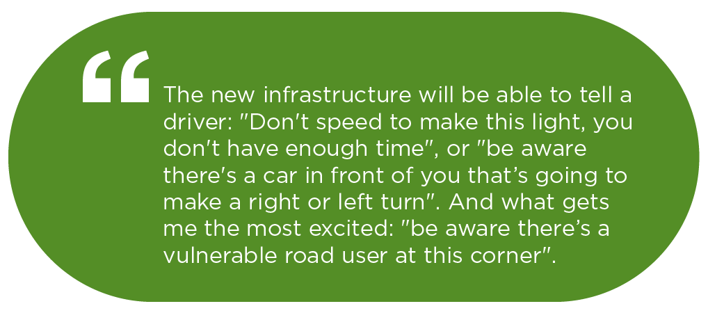 new infrastructure will guide drivers