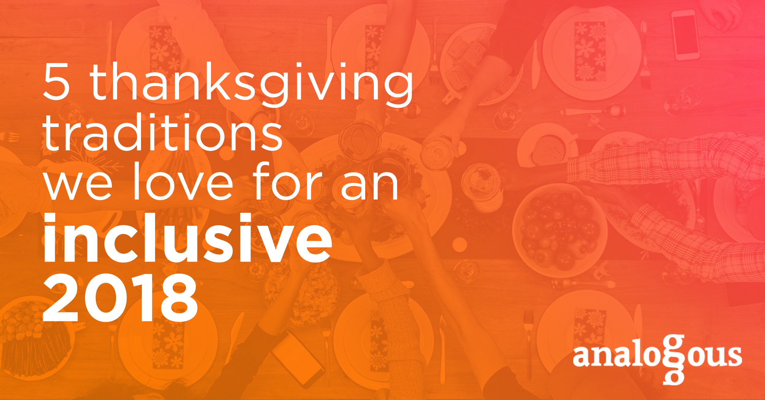 inclusive thanksgiving