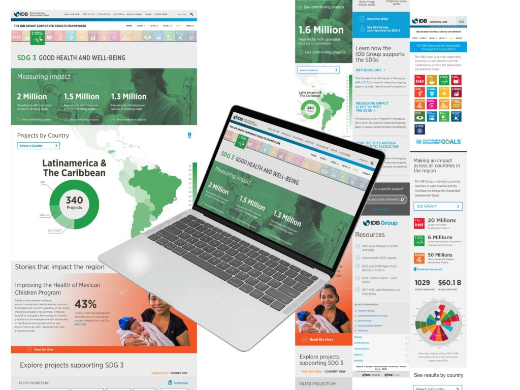 showing pages from the SDG